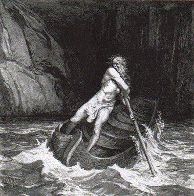 Caronte, o Barqueiro